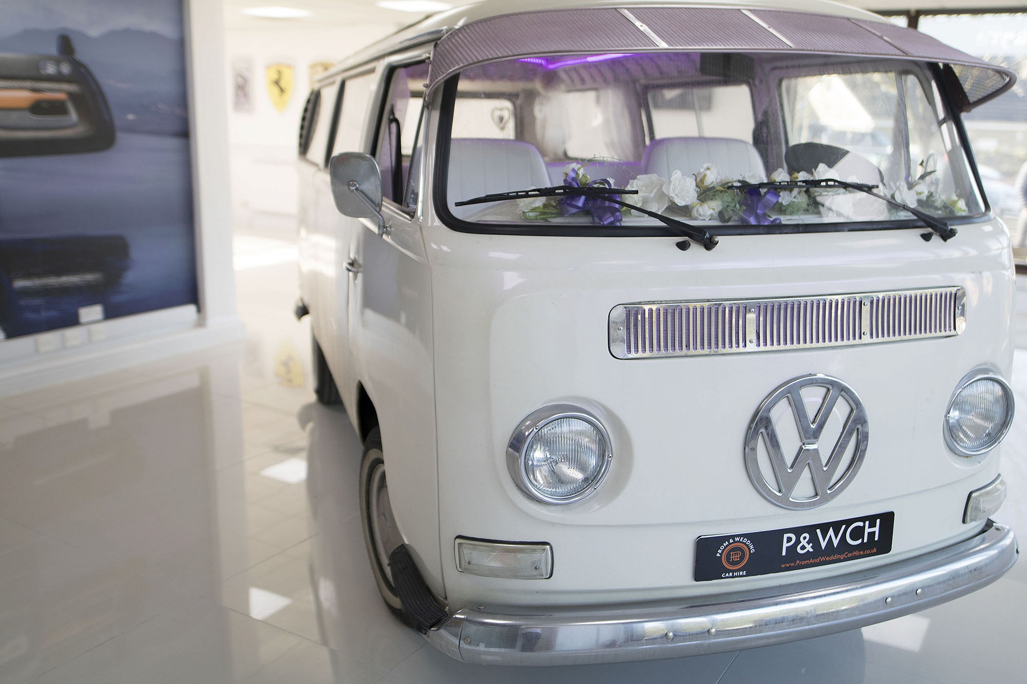 Vw Camper Van Prom Wedding Car Hire