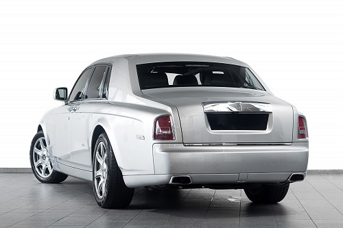 Rolls Royce Phantom Sliver - Back