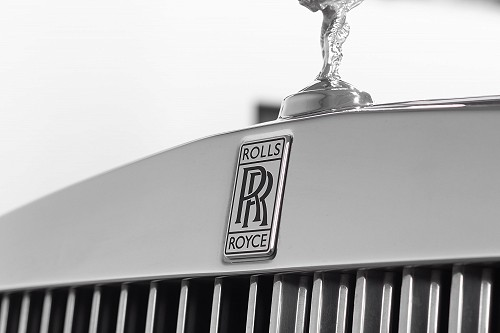 Rolls Royce Phantom Sliver - Front Badge